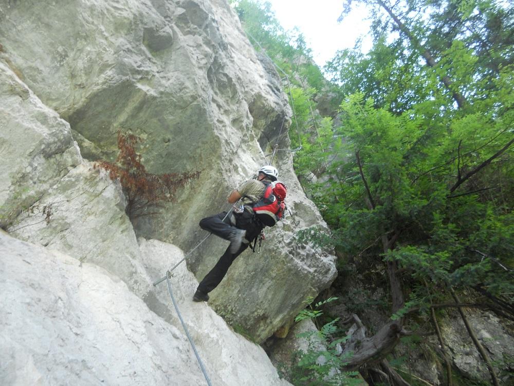 wilde gams klettersteig